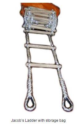 Jacob's Ladder with storage bag
